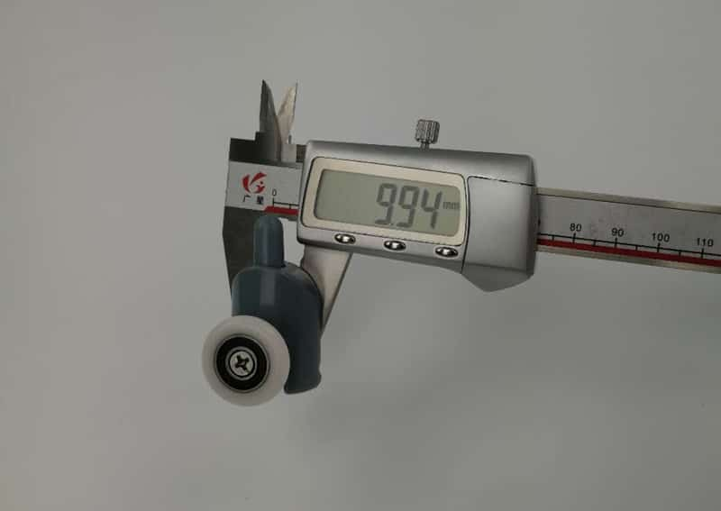 Poulies de cabine pour salle de douche, rouleaux/coureurs/0 roues/poulies de diamètre 20mm/22mm/23mm/25mm/27mm, 4 pièces-8