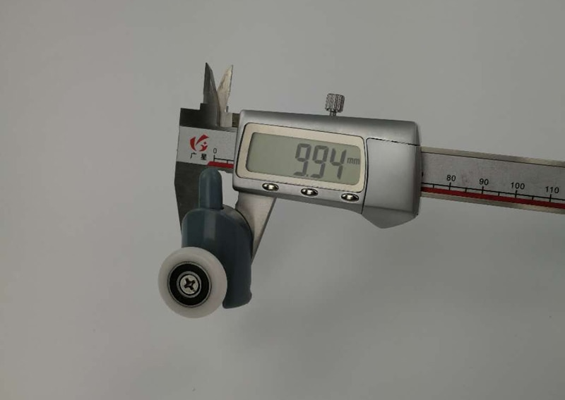 Ensemble de 4 pièces pour porte de douche, roulettes, poulies, partie supérieure ou inférieure, diamètre 20mm/22mm/23mm/25mm/27mm